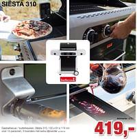 Barbecook siesta 310 gasbarbecue - buitenkeuken-Barbecook