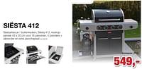 Barbecook siesta 412 gasbarbecue - buitenkeuken-Barbecook