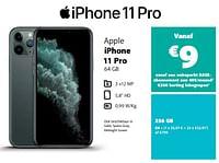 Apple iphone 11 pro 256 gb-Apple
