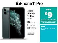 Apple iphone 11 pro 64 gb-Apple