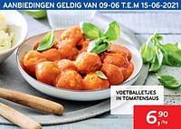 Voetballetjes in tomatensaus-Huismerk - Alvo