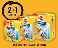 2+1 gratis pedigree dentastix 28-pack-Pedigree
