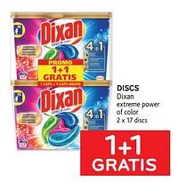 Discs dixan 1+1 gratis-Dixan