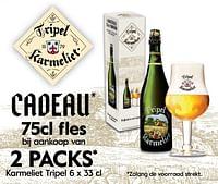 2 packs karmeliet tripel-TRipel Karmeliet