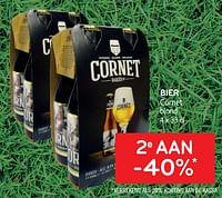 Bier cornet 2e aan -40%-Cornet