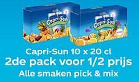 Capri-sun 10 x 20 cl 2de pack voor 1-2 prijs alle smaken pick + mix-Capri-Sun