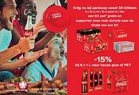 Krijg nu bij aankoop vanaf 30 blikken een ek pet gratis-Coca Cola