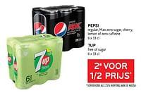Pepsi + 7up 2e voor 1-2 prijs-Huismerk - Alvo