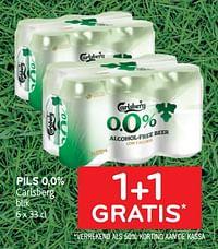 Pils 0,0% carlsberg 1+1 gratis-Carlsberg Luxe
