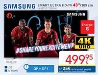Samsung smart ultra hd-tv 43`` ue43tu7170sxxn-Samsung