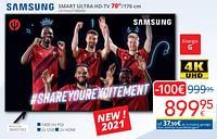 Samsung smart ultra hd-tv 70``ue70au7190xxn-Samsung