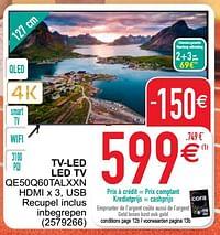 Samsung tv-led led tv qe50q60talxxn-Samsung