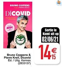 Bruno coppens + pierre kroll dicovid-Huismerk - Cora