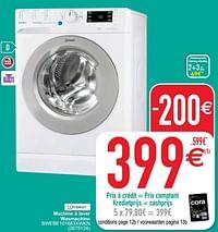 Indesit machine à laver wasmachine bwebe101683xwkn-Indesit
