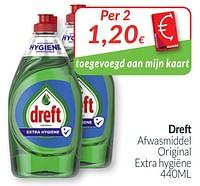 Dreft afwasmiddel original extra hygiëne-Dreft