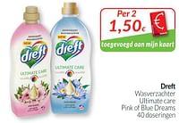 Dreft wasverzachter ultimate care pink of blue dreams-Dreft