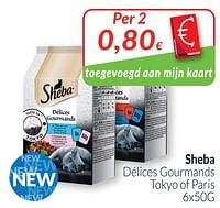 Sheba délices gourmands tokyo of paris-Sheba