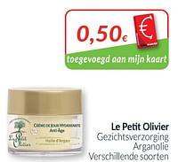 Le petit olivier gezichtsverzorging arganolie-Le Petit Olivier
