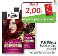 Poly palette haarkleuring-Schwarzkopf