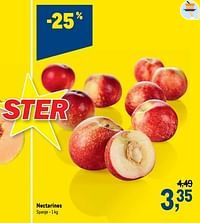 Nectarines-Huismerk - Makro