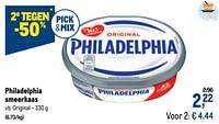 Philadelphia smeerkaas original-Philadelphia