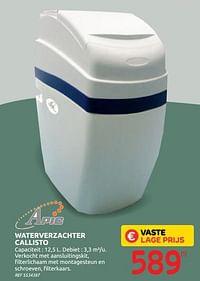 Waterverzachter callisto-Apic