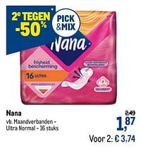 Nana maandverbanden - ultra normal-Nana