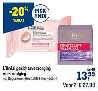L`oréal dagcrème - revitalift filler-L