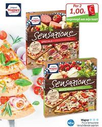 Wagner pizza sensazione-Original Wagner