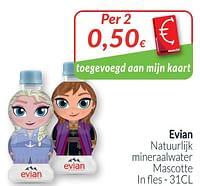 Evian natuurlijk mineraalwater mascotte-Evian
