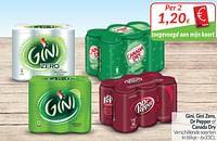Gini, gini zero, dr pepper of canada dry-Huismerk - Intermarche