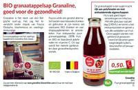 Granaline bio puur granaatappelsap-Granaline
