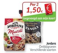 Jordans ontbijtgranen-Jordans
