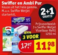 Swiffer wetjet vloeibaar refill-Swiffer