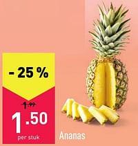 Ananas-Huismerk - Aldi