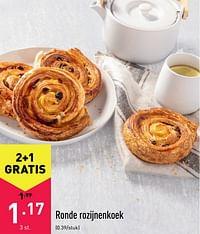 Ronde rozijnenkoek-Huismerk - Aldi