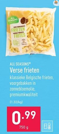 Verse frieten-All Seasons