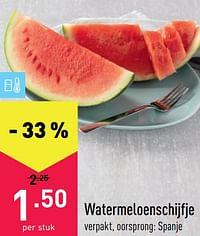 Watermeloenschijfje-Huismerk - Aldi