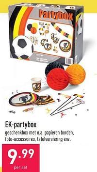 Ek-partybox-Huismerk - Aldi