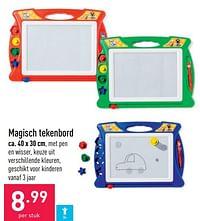 Magisch tekenbord-Huismerk - Aldi