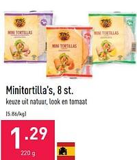 Minitortilla`s-Huismerk - Aldi