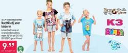 Nachtkledij voor kinderen