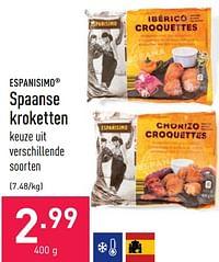 Spaanse kroketten-Españisimo