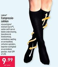 Compressiesokken-Cabeau