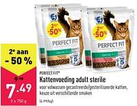 Kattenvoeding adult sterile-Perfect Fit