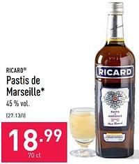 Pastis de marseille-Ricard