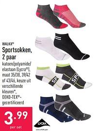 Sportsokken-Walkx
