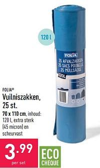 Vuilniszakken-FOLIA