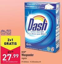 Waspoeder-Dash