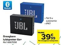 Jbl draagbare luidspreker go+-JBL